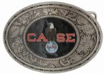 Case Eagle Belt Buckle with display stand. Code KA4